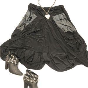 ESHA Design asymmetrical skirt